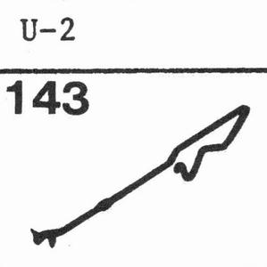 LESA U-2 Stylus, SS/DS<br />Price per piece