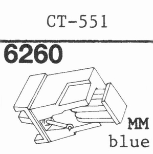 MARANTZ CT-551 L.BLUE NEW MM Stylus, DS<br />Price per piece