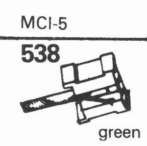MASTERCRAFT MCI-5 Stylus, DS<br />Price per piece