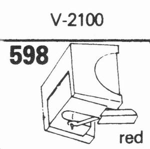 MICRO V-2100 Stylus, ES<br />Price per piece