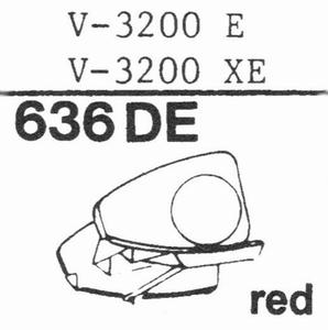 MICRO V-3200 E Stylus, DE<br />Price per piece