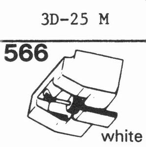 MITSUBISHI 3D-25 Stylus, DS<br />Price per piece