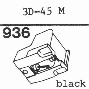 MITSUBISHI 3D-45 M Stylus, DS<br />Price per piece