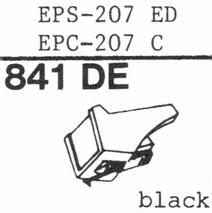 NATIONAL EPS-207 ED Stylus, DE<br />Price per piece
