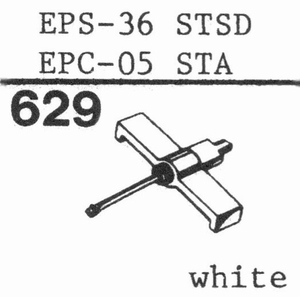 NATIONAL EPS-36 STSD Stylus, DS<br />Price per piece