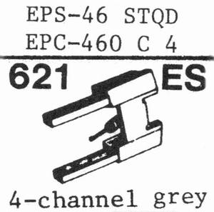 NATIONAL EPS-46 STQD Stylus, SHIBATA<br />Price per piece