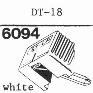NIVICO DT-18 Stylus, DS<br />Price per piece