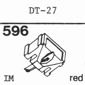 NIVICO DT-27 Stylus, DS<br />Price per piece