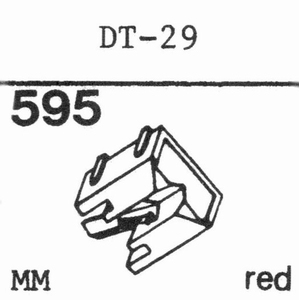 NIVICO DT-29 Stylus, DS<br />Price per piece