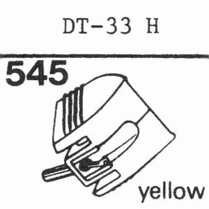 NIVICO DT-33 H Stylus, DS<br />Price per piece