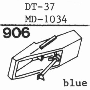 NIVICO DT-37, MD-1034 Stylus, DS<br />Price per piece