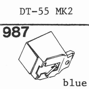 NIVICO DT-55 MK II Stylus, diamond, stereo