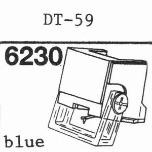 NIVICO DT-59 Stylus, DS<br />Price per piece