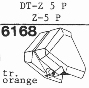 NIVICO DT-Z 5 P Stylus, DS<br />Price per piece