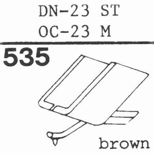 ONKYO DN-23 Stylus, DS<br />Price per piece