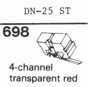 ONKYO DN-25 ST Stylus, ES<br />Price per piece