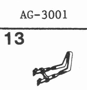PHILIPS AG-3001 Stylus, SN/DS
