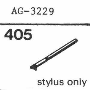 PHILIPS AG-3229, GP-229 STYLUS, Stylus, DS