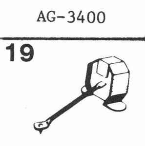 PHILIPS AG-3400 Stylus, DN<br />Price per piece