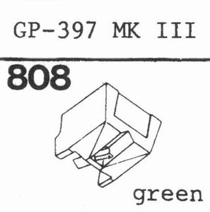 PHILIPS GP-397 MK IIIGREEN Stylus, DS<br />Price per piece