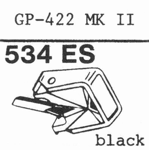 PHILIPS GP-422, GP-412  Stylus, SHIBATA<br />Price per piece