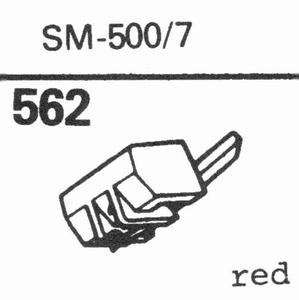 RONETTE SM-500/7 Stylus, diamond, stereo