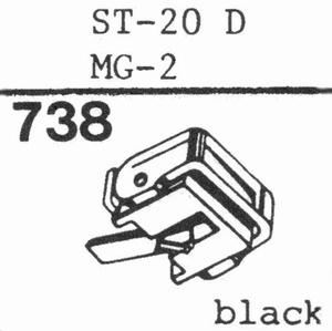SANYO ST-20 D; MG-2; ST-27 DL Stylus, DS<br />Price per piece