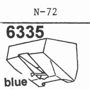 TRIO/KENWOOD N-72 Stylus, diamond, stereo