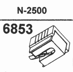 YAMAHA N-2500 Stylus<br />Price per piece