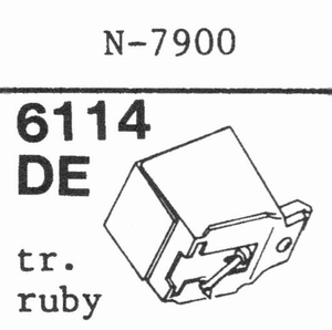 YAMAHA N-7900 Stylus, DE-0R<br />Price per piece