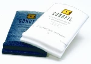 INTERTECHNIK SONOFIL/W/SB, Dämpfungsmatte für 20l max.