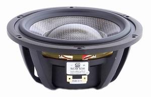 """MOREL SCM-634, 6"""" Full/Midrange, Carbon fibre/Rohacell cone<br />Price per piece"""