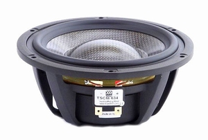 "MOREL TSCM-634, 6"" bass/midrange/midrange, Carbon fibre/Roha<br />Price per piece"