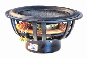 "MOREL TiCW-1258Ft, 12"" Subwoofer, composite cellular fibre c<br />Price per piece"