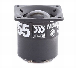 MOREL MDM-55, 54mm Midrange, coated silk softdome<br />Price per piece
