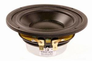 "MOREL CAW-428, 4"" bass/midrange, improved  DPC cone"