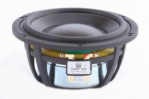 "MOREL CAW-538, 5"" bass/midrange, improved  DPC cone"