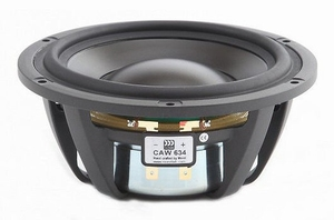 "MOREL CAW-634, 5"" bass/midrange, improved  DPC cone<br />Price per piece"