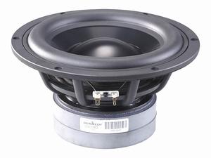 WAVECOR SW223BD02, 21cm bass, aluminium cone