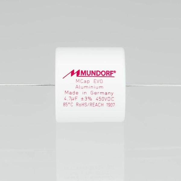 MUNDORF ME, 0,22uF/450V, ±4%, EVO  Kondensator<br />Price per piece