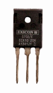 EXICON ECX10N20, 8A/200V, 250W Mosfet, N-channel, TO247