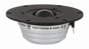 MOREL ST-1108bk, 28mm tweeter, coated silk softdome, black<br />Price per piece