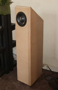 "ELTIM S614 ""Solo"", floorstanding Fullrange speaker kit, mkII<br />Price per piece"