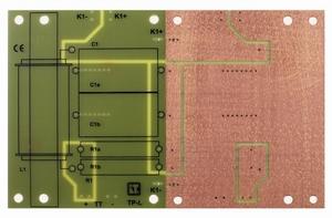 IT LP-L3 TP, Low-Pass crossover PCB, 6dB, FR4