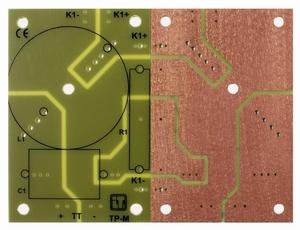 IT LP-M2 TP, Low-pass PCB, for large components, FR4