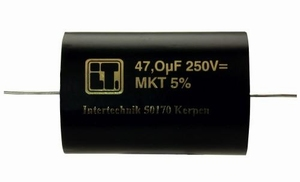 IT MKTA/4.7/250, MKT cap, 4,7uF, 250V, 5%<br />Price per piece