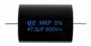 IT Q6/2.7/600, Q6 MKP foil cap, 2,7uF, 600V, 5%<br />Price per piece