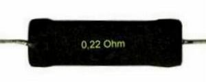 ME Precision wire wound resistor, 0,33Ω, 6 Watt, 1%<br />Price per piece