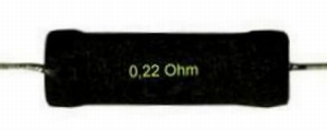 IT ME/3.30, Precision wire wound resistor, 3,3Ω, 6 Watt, 1%