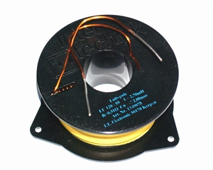 IT LU120/2.7/20, aircoil, 2,7mH, OFC Ø2,0mm, R=0,33